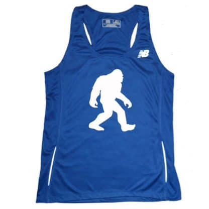 Women's Bigfoot Blue singlet