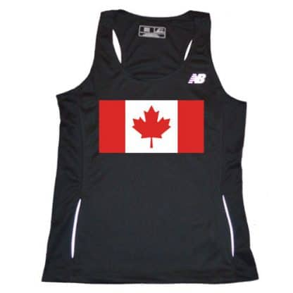 women's Canadian Flag Singlet