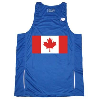 Men's Canadian Flag Singlet
