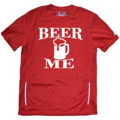 Men's Beer Me Running Shirt