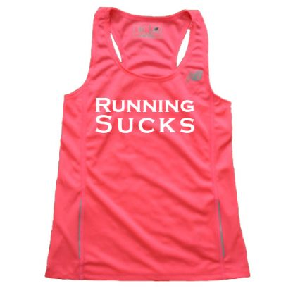 Women's Running Sucks Singlet 1