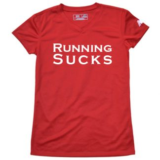 womens running sucks shirt