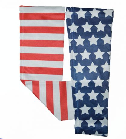 American Flag Running Arm Sleeves